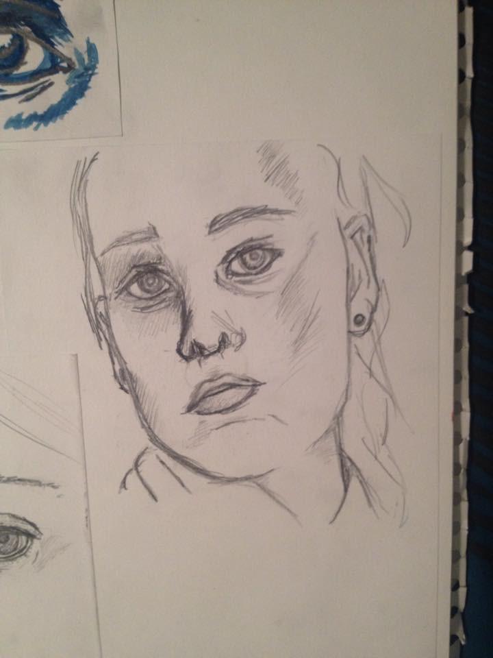Self Portrait 1 by jellitot