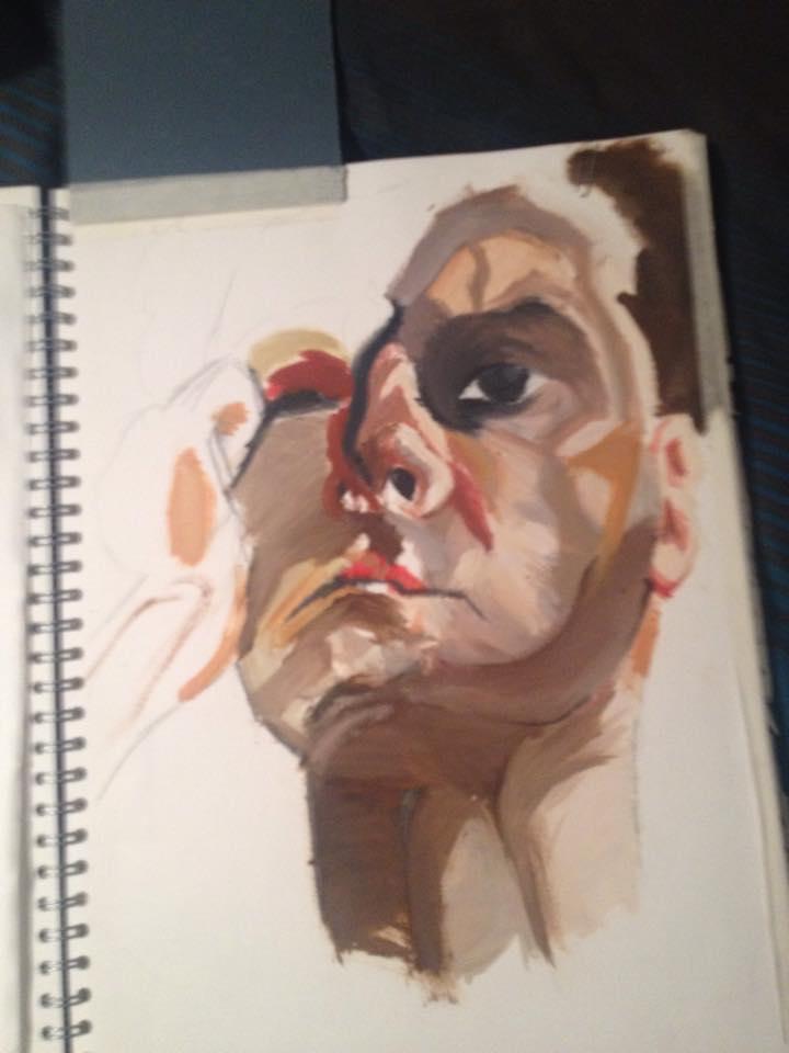 Lucian Freud Work by jellitot