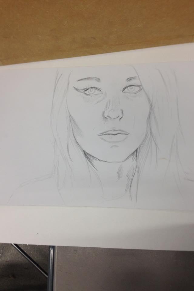 Self Portrait 2 by jellitot