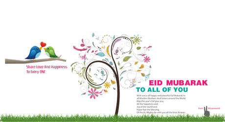 Eid ul fitr 2013 banner from AhsanworlD