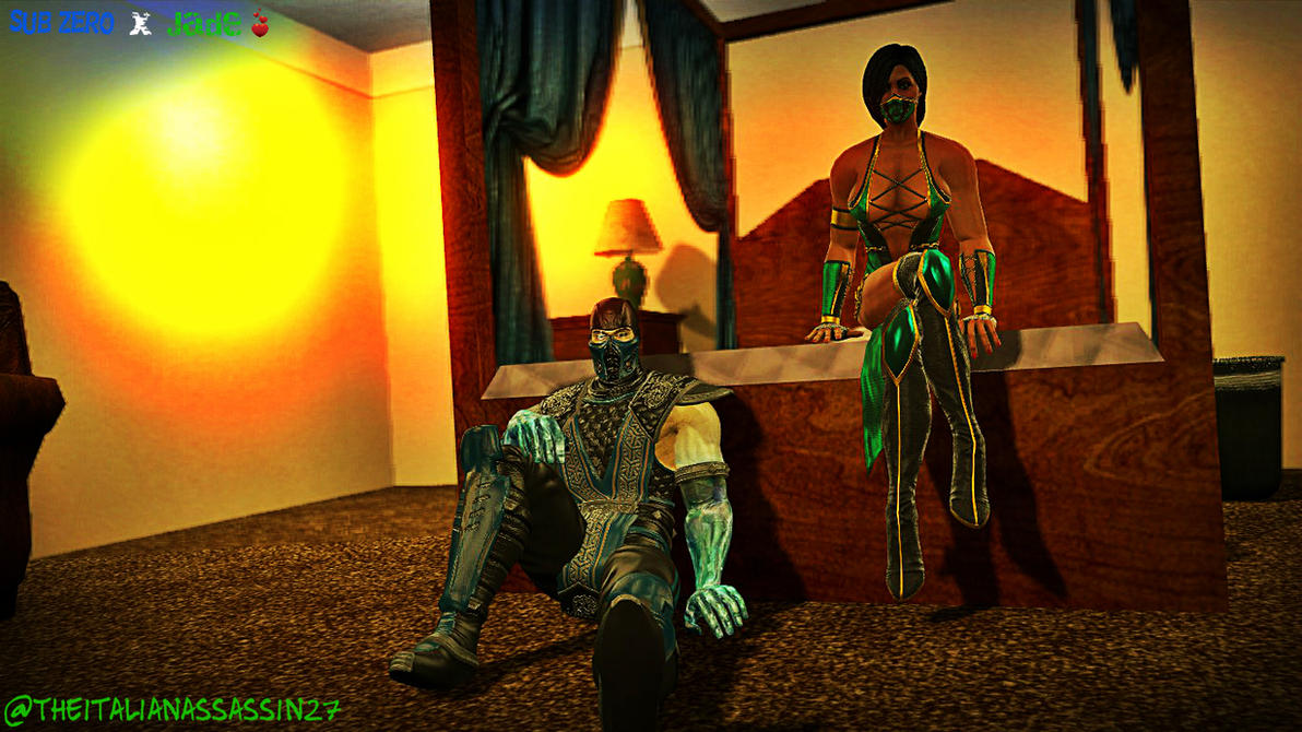Sub Zero And His Edenian Wife, Jade by ...