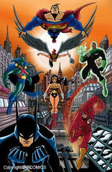 JLA BY HOACHO. by Galtharllin