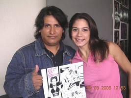 With Sarah Stock