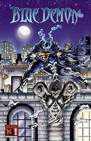 Blue Demon fist Poster. by Galtharllin