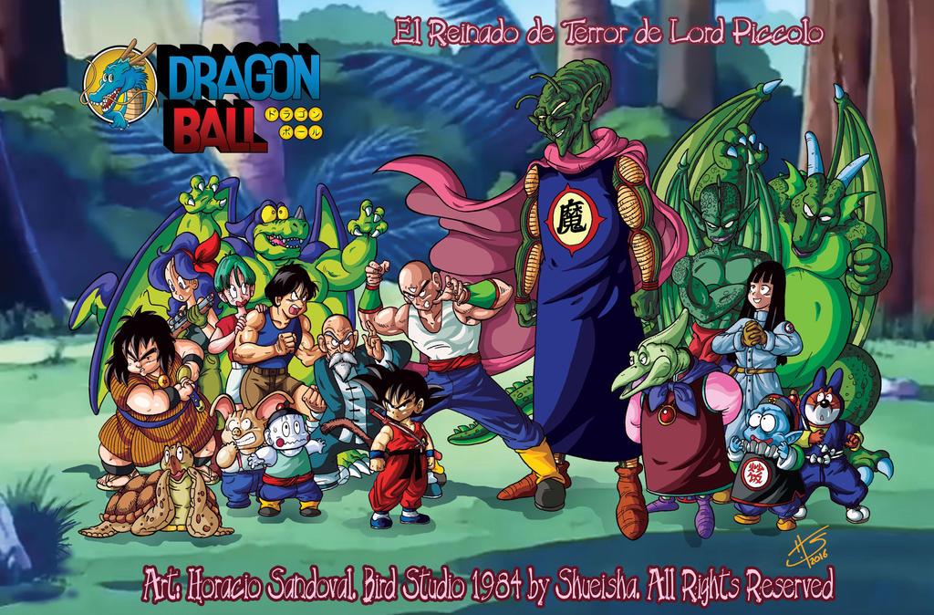 DRAGON BALL El Reinado de Terror de Lord Piccolo by Galtharllin