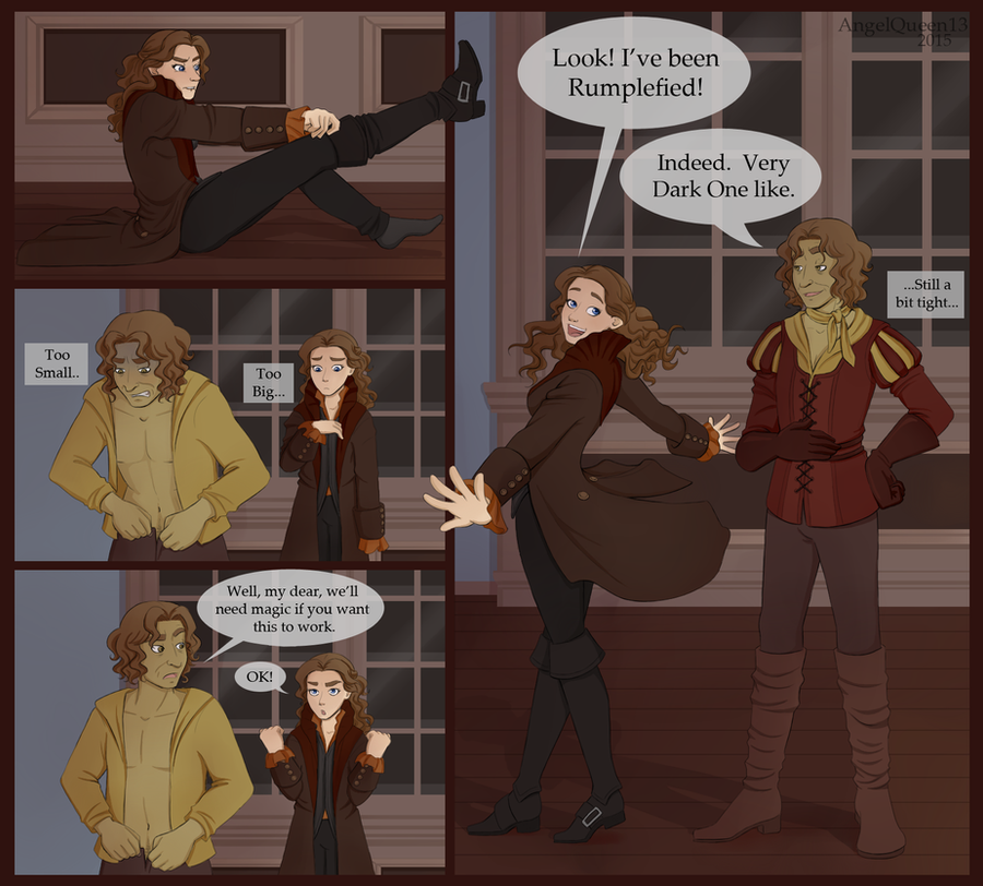 Le Rumbelle  - Page 3 Rumbelle__wearing_eachothers__clothes_by_angelqueen13-d8fyg28