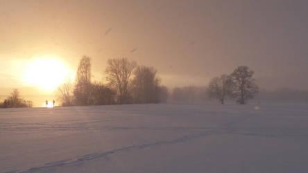 winter sundown IV by Ebenholz