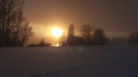 winter sundown V by Ebenholz