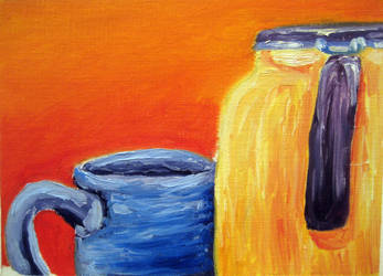 The Jug with a cup by GwendalvonVoltaire