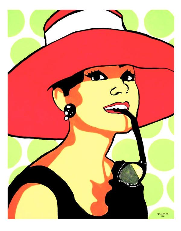 Audrey Hepburn- Pop Art by geekyartistgirl on DeviantArt