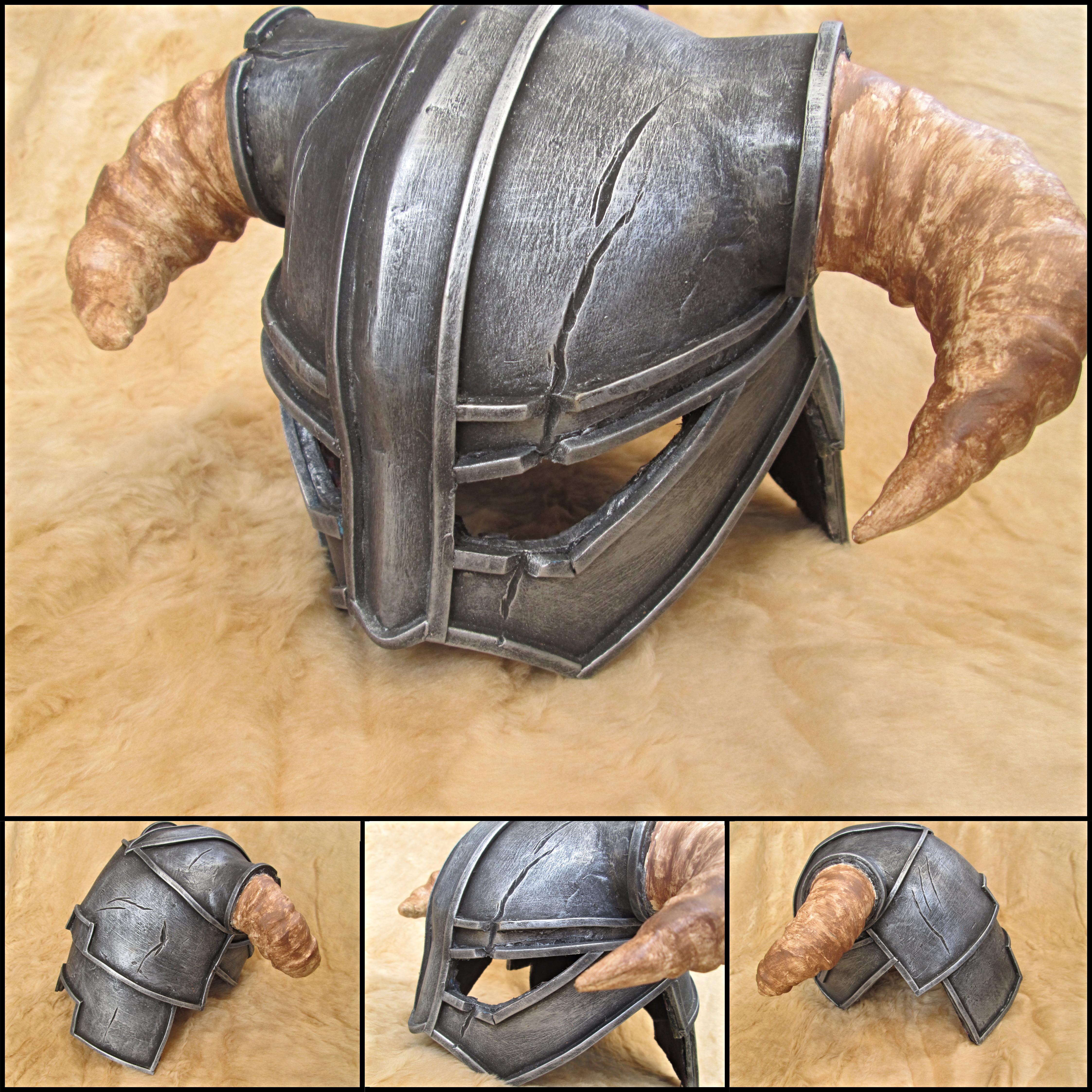 Skyrim Iron Helmet by JosuaArtDesigns on DeviantArt