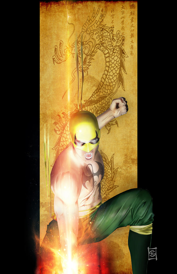 The Immortal Iron Fist by JacksDad