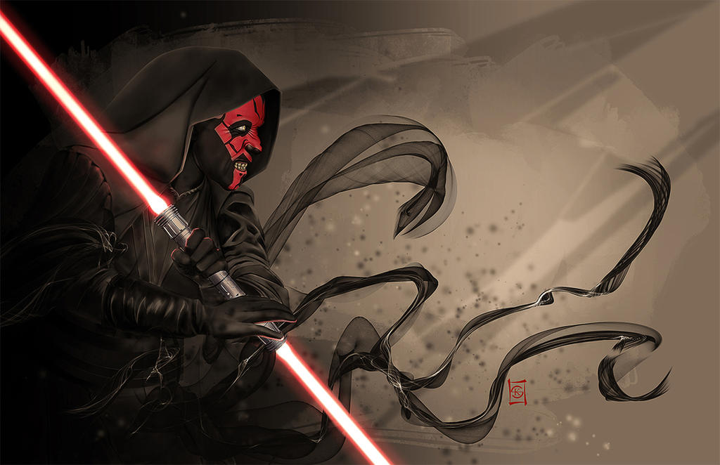 Darth Maul by JacksDad