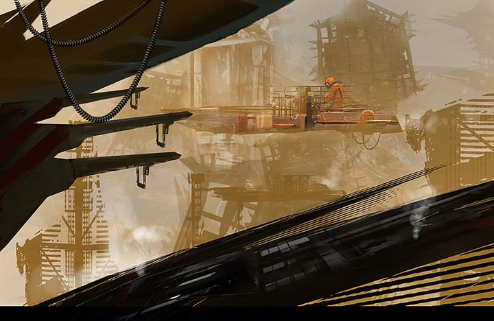 Space Junkyard by JacksDad