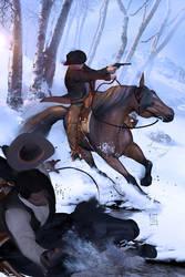 Ambushed Riders by JacksDad