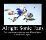 Classic Sonic Is Back