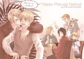 APH -Happy Mayuge Festival 3-3 by Lul-lulla