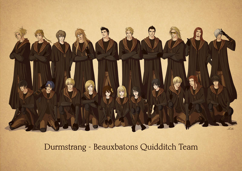 Durmstrang Beauxbatons Quidditch Team By Lul Lulla On Deviantart Narcissa is mama bear and draco is her little boy. durmstrang beauxbatons quidditch team