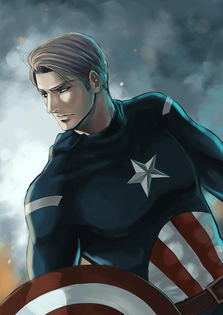Captain America by Lul-lulla