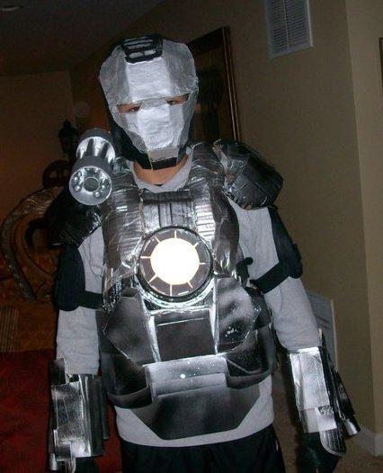 iron war machine costume