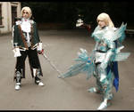 Soul Calibur IV Cosplay - Siegfried and Raphael