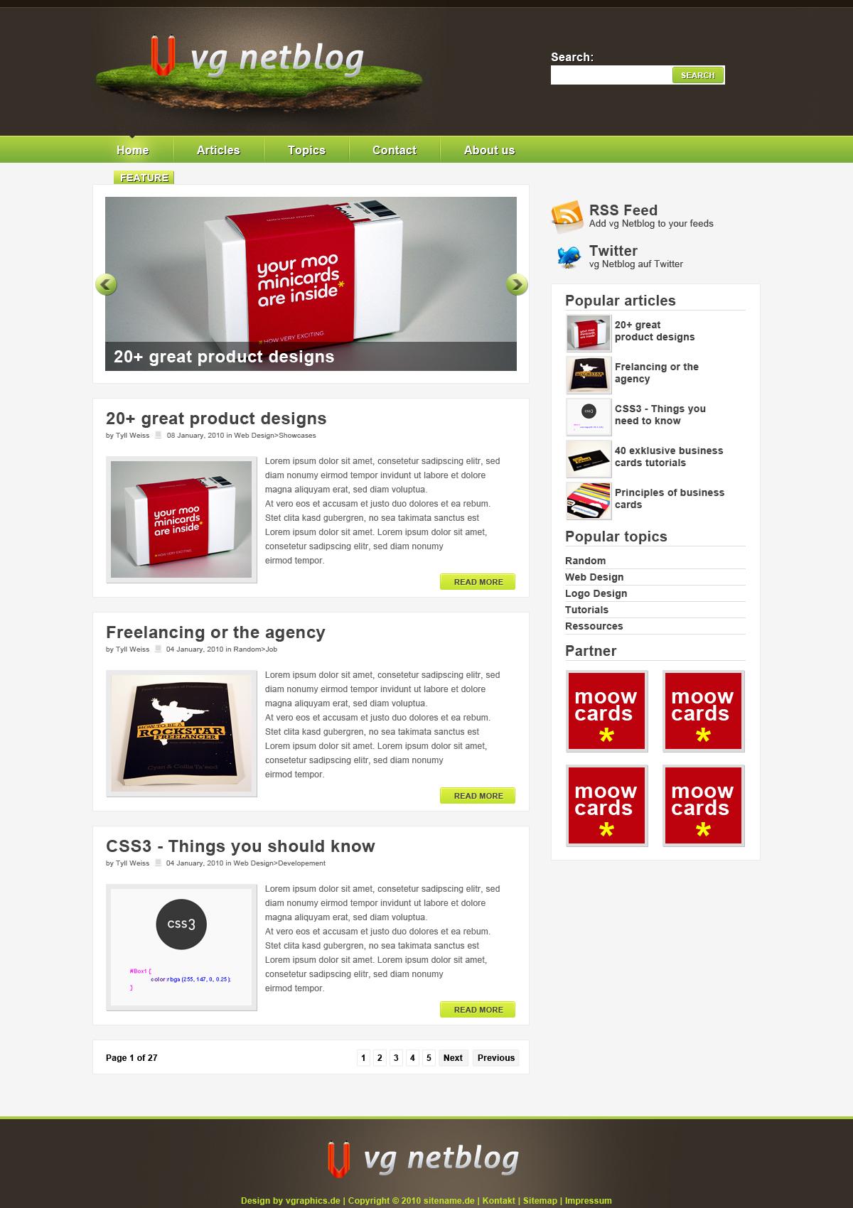 VG Netblog v2 by Mac002