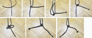 Chinese Cross Knot in 6 Simple Steps