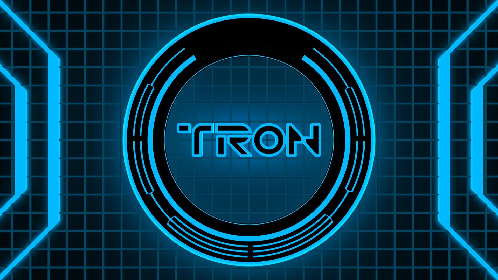 Tron Wallpaper - Blue by MacsForever on DeviantArt