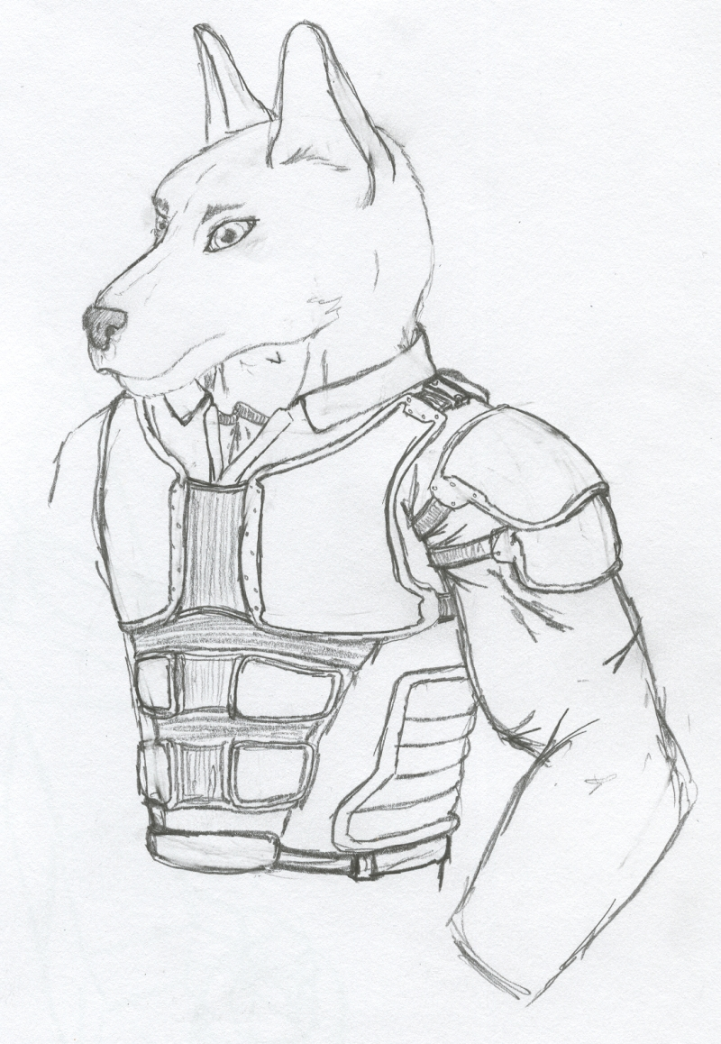 Armour Concept Design by Jarndahusky