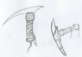 Traditional blade by Jarndahusky