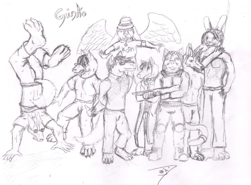 Ginko Gang by Jarndahusky