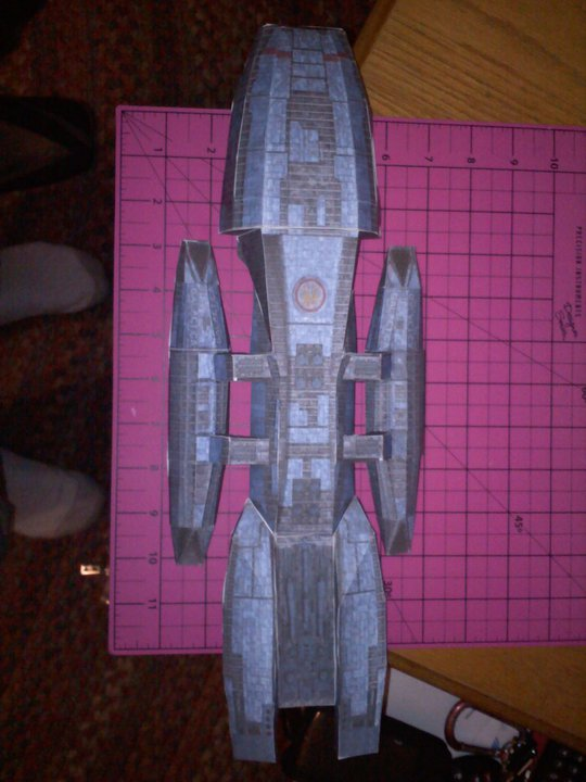 Battlestar Galactica by Jarndahusky