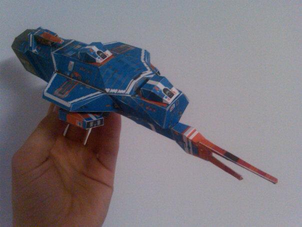 Kushan Destroyer by Jarndahusky