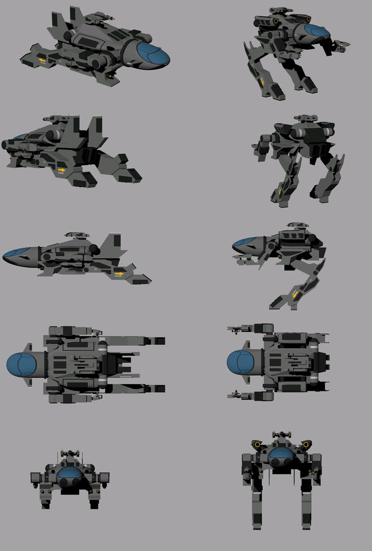 ASATM-F -Running Stallion by Jarndahusky