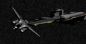 Fighter and Enterprise by Jarndahusky