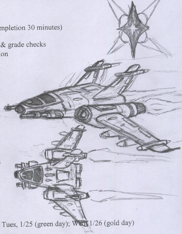 Laret Fighter by Jarndahusky