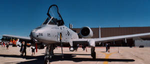 A-10 front angle