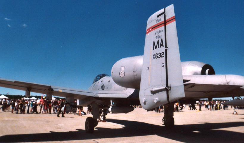 A-10 Rear Shot by Jarndahusky