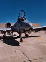 A-10 Retro Angle by Jarndahusky