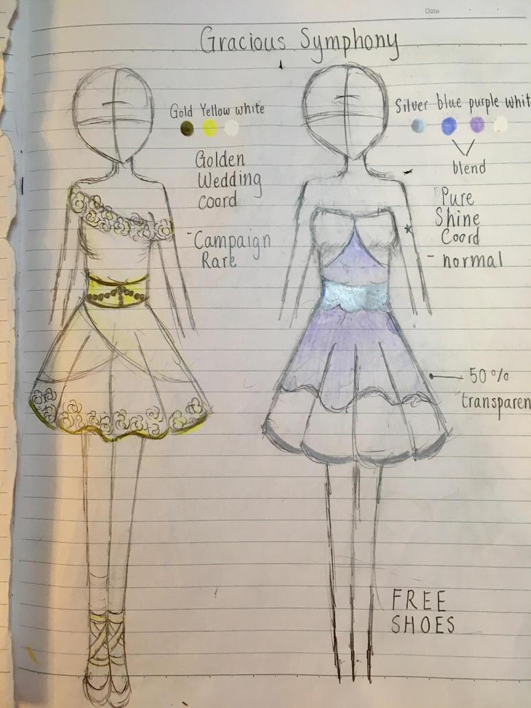 Gracious Symphony extra April designs  by Yozora-Kasumi