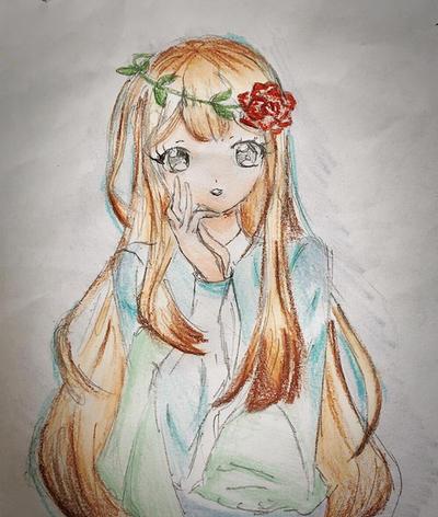 Am I pretty or not? by Yozora-Kasumi