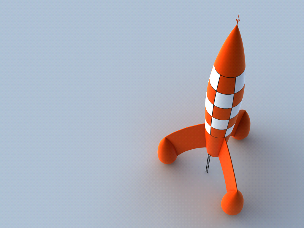 Tintin rocket by element05