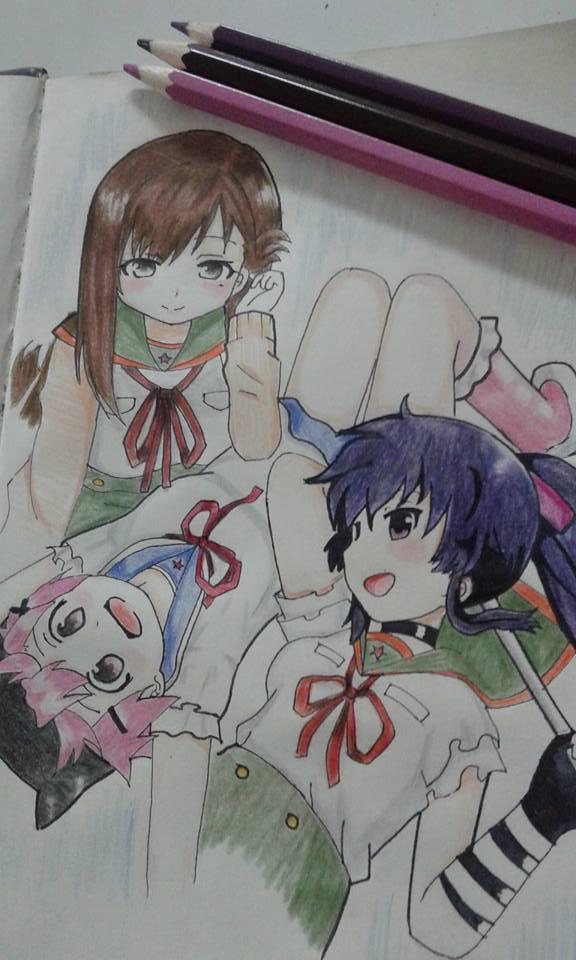 Gakkou Gurashi! School Live XD by MikaValentine26