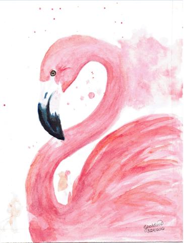 Flamingo by denpotato