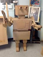 A cardboard Robot by Alicia-Imagination