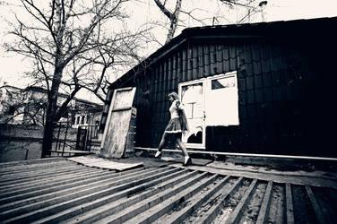 once on the roof by Raskolnikova-Sonya