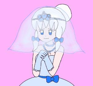 Virgo's Wedding Dress by AaronBrawnstone
