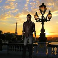Kurtis Trent in Paris by Lara-Croft-En-Force