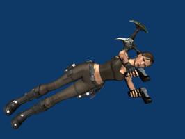 My Fisrt Blender Render by Lara-Croft-En-Force