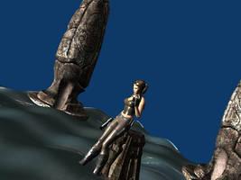 My second Blender render by Lara-Croft-En-Force